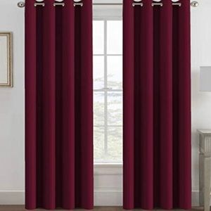 """Blackout Curtain Thermal Insulation 52"""" x 96"""""""
